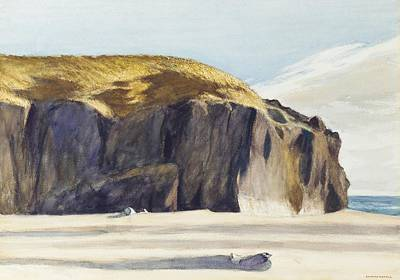 Oregon Coast Print by Edward Hopper