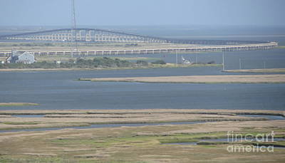Obx Photograph - Oregon Inlet Bridge by Cathy Lindsey
