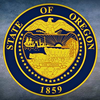 Oregon State Seal Print by Movie Poster Prints