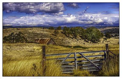Oldzero Photograph - Oregon's Historic Highway by Steve Benefiel