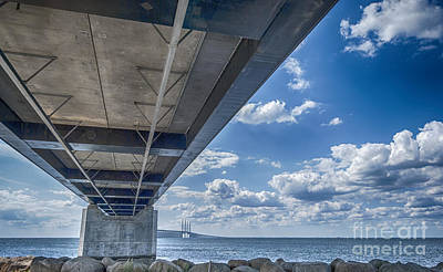 Malmo Painting - Oresundsbron Hdr by Antony McAulay