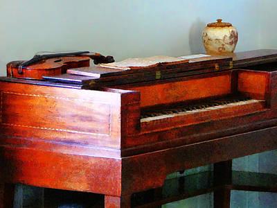 Violin Photograph - Organ And Violin by Susan Savad