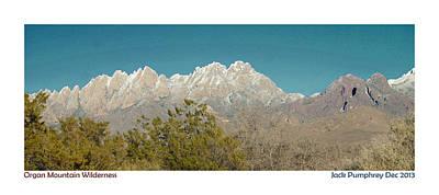 Mesilla Photograph - Organ Mountain Wilderness by Jack Pumphrey