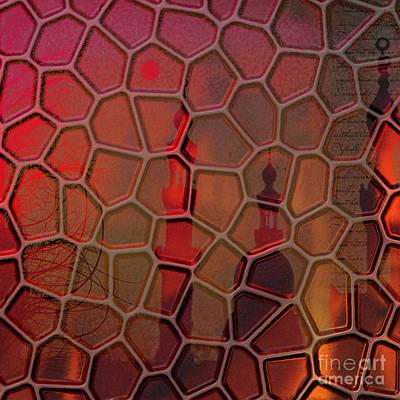 Islam Digital Art - Oriental Haze by Mo T