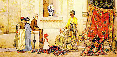 Horizontal Painting - Orientalisme by Celestial Images