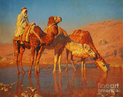 Orientalist Painting - Orientalist Paintings by Celestial Images