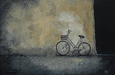 Steer Painting - I've Seen Darker Days by Sara Gardner