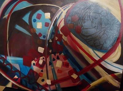 Brain Painting - Origins by Julie Larkin