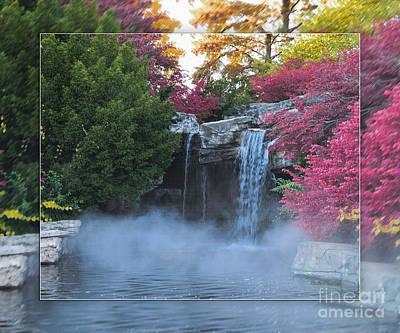 Koi Digital Art - Ornamental Garden 1b - Walter Herrit by Walter Herrit