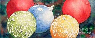 Ornaments Print by Yoshiko Mishina