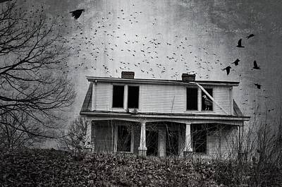 Abandoned Photograph - Ornithoid Nightmare by Emily Stauring