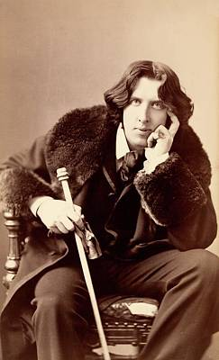 1880s Photograph - Oscar Wilde by Library Of Congress