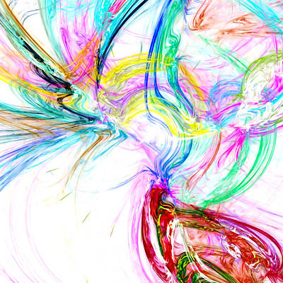 Cosmic Space Mixed Media - Oscillation...composer by Tom Druin