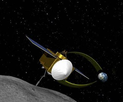 Samples Photograph - Osiris-rex Asteroid Mission by Nasa/goddard/university Of Arizona