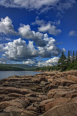 Cumulus Photograph - Otter Point Afternoon by Rick Berk