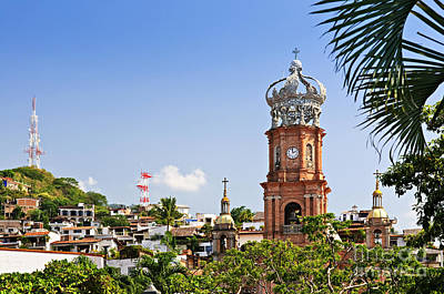 Puerto Vallarta Photograph - Our Lady Of Guadalupe by Elena Elisseeva