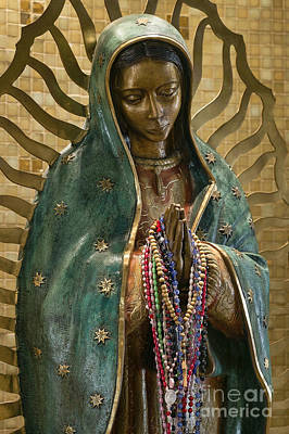 Our Lady Of Guadalupe Print by John Greim