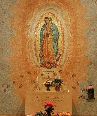 Blessed Virgin Photograph - Our Lady Of Guadalupe by Philip Ralley