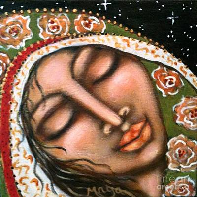 Painting - Our Lady Of Peace by Maya Telford