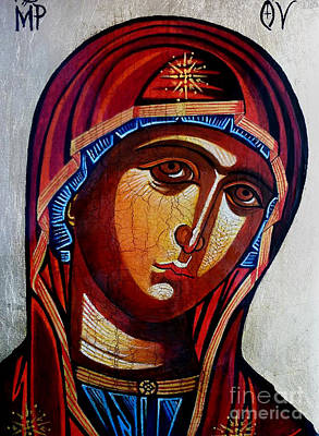Our Lady Of Perpetual Help Print by Ryszard Sleczka