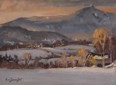 Thunderbolt Painting - Out Back by Len Stomski
