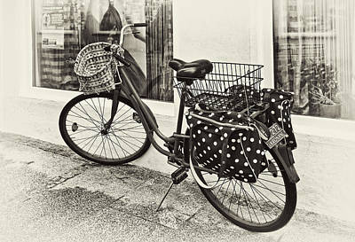 Dots Photograph - Out For A Ride by Marcia Colelli