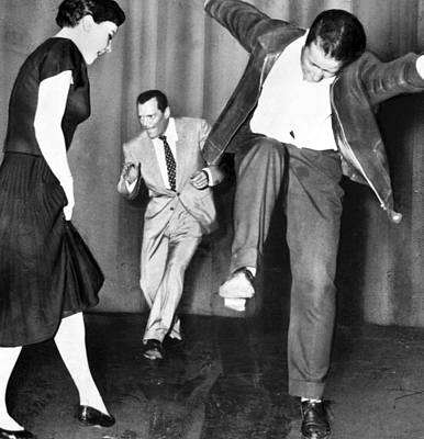 Dance Floor Photograph - Out Of Control Dancing by Retro Images Archive