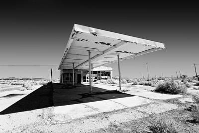 Out Of Gas Print by Peter Tellone