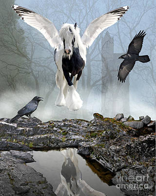 Gypsy Digital Art - Out Of The Mist by Judy Wood