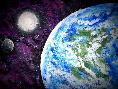 Painting - Out Of This World by Daniel Nadeau