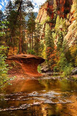 West Fork Photograph - Out On A Ledge  by Saija  Lehtonen