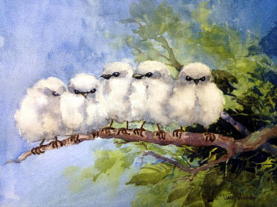 Painting - Out On A Limb by Tina Bohlman