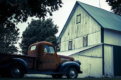 Photograph - Out Past The County Line  by Off The Beaten Path Photography - Andrew Alexander