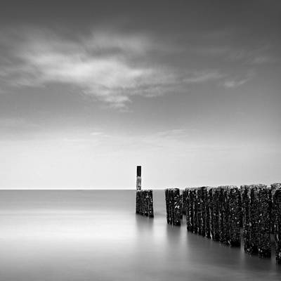 Zeeland Photograph - Out To Sea by Dave Bowman