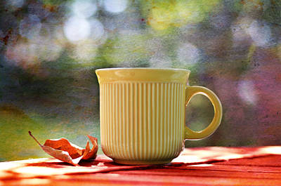 Outdoor Cafes Photograph - Outdoor Cafe by Laura Fasulo
