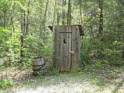 Outhouse Print by Robin Vargo