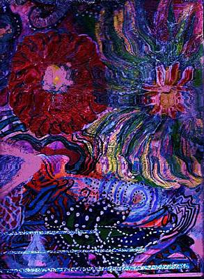 Outrageous Mixed Media - Outrageously Colorful  by Anne-Elizabeth Whiteway