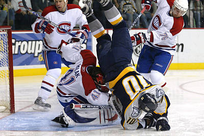 Montreal Canadiens Photograph - Over Easy by Don Olea