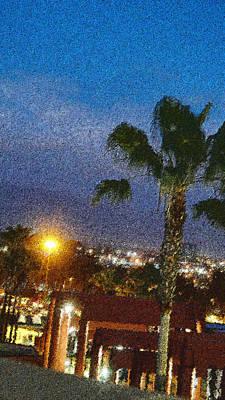 Csu Photograph - over the Luckman @ My CSU L.A. by Kenneth James