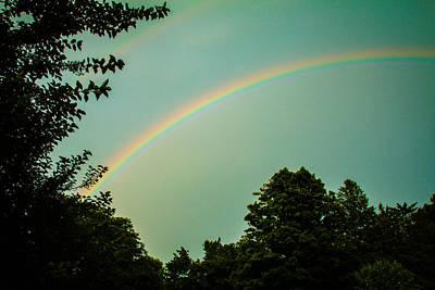 Rainbow Photograph - Over The Rainbow by Sara Frank