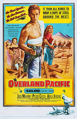 Adele Photograph - Overland Pacific, Us Poster Art, Adele by Everett