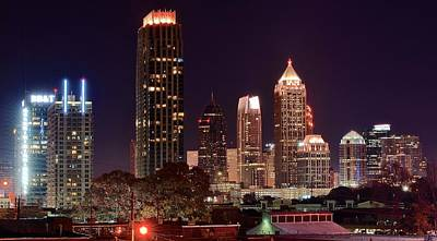 Overlooking Atlanta Print by Frozen in Time Fine Art Photography