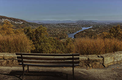 Overlooking Lake Lure Print by Kevin Senter