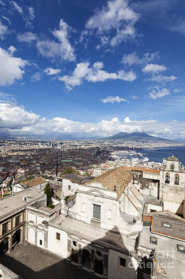 Italy Photograph - Overlooking Naples by Wolfgang Steiner