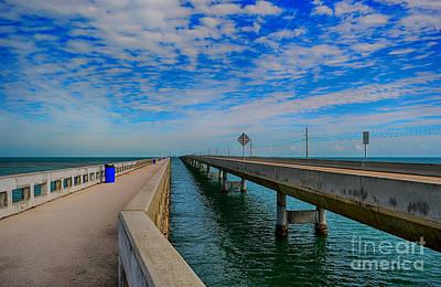Overseas Highway Florida Keys Print by Chris Thaxter