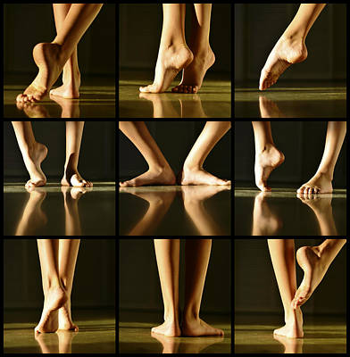 Toe Photograph - Overture by Laura Fasulo