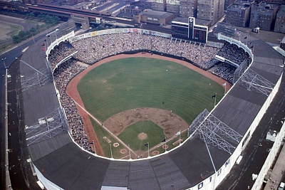 Old Yankee Photograph - Overview Of Yankee Stadium by Retro Images Archive
