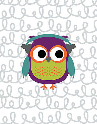 Owl 2 Print by Tamara Robinson