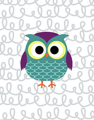 Owl 3 Print by Tamara Robinson
