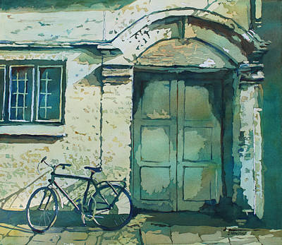 Oxford Bike Print by Jenny Armitage